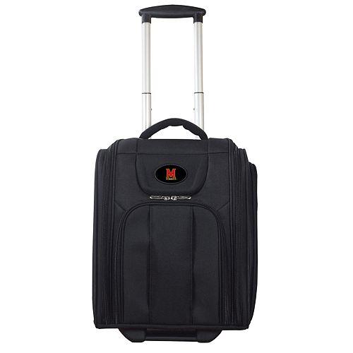 Maryland Terrapins Wheeled Briefcase Luggage
