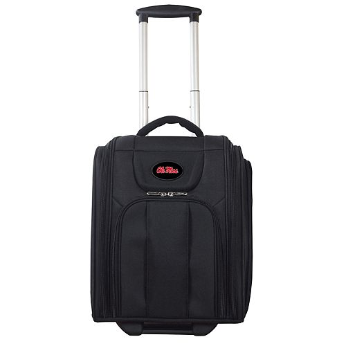 Ole Miss Rebels Wheeled Briefcase Luggage