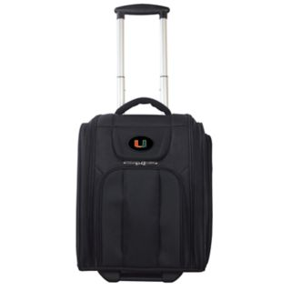 Miami Hurricanes Wheeled Briefcase Luggage