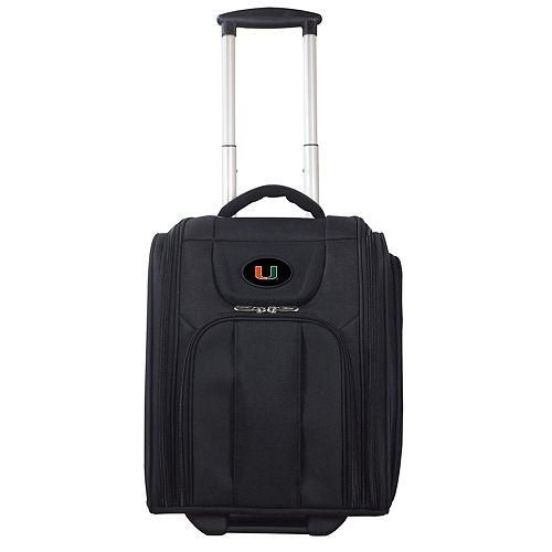 Miami Hurricanes Wheeled Briefcase Luggage