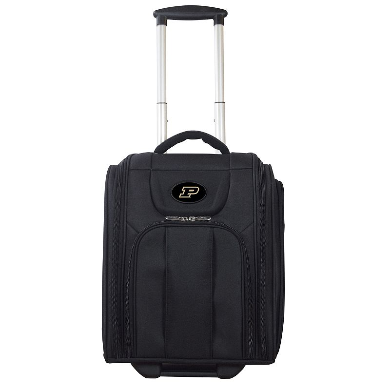 Purdue Boilermakers Wheeled Briefcase Luggage, Oxford