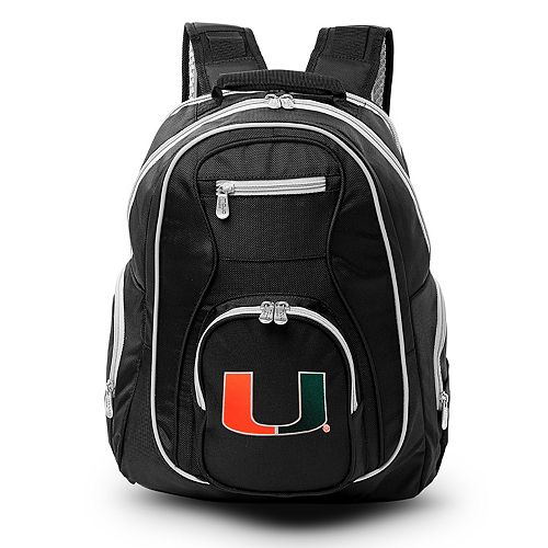 Miami Hurricanes Laptop Backpack
