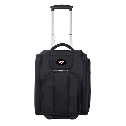 Virginia Tech Hokies Wheeled Briefcase Luggage