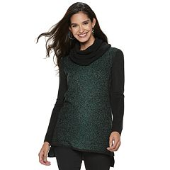 Women's Apt. 9® High-Low Metallic Tunic