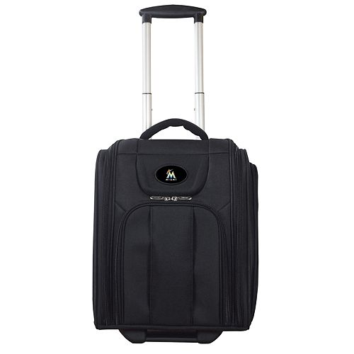 Miami Marlins Wheeled Briefcase Luggage