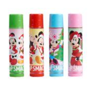 Disney's Mickey & Minnie Mouse Lip Balm Ornament Gift Set by Lip Smacker