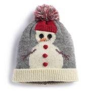 Snowman Knit Beanie