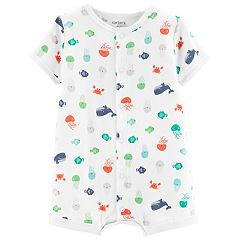 Baby Boy Carter's Sea Creatures Romper