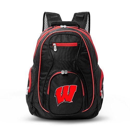 Wisconsin Badgers Laptop Backpack