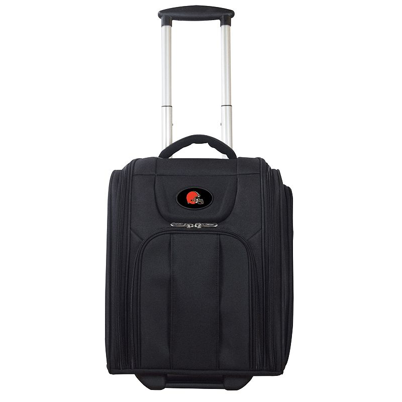 Cleveland Browns Wheeled Briefcase Luggage, Oxford