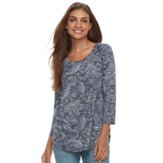 Petite SONOMA Goods for Life? Raglan Crewneck Tunic