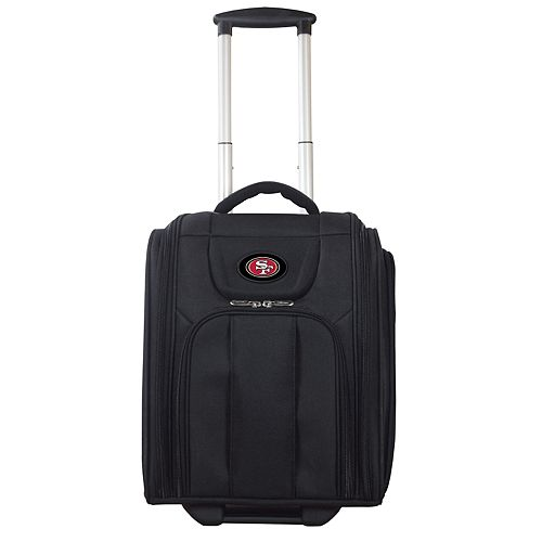 San Francisco 49ers Wheeled Briefcase Luggage