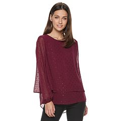 Women's Apt. 9® Tiered Chiffon Top
