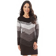 Women's Apt. 9® Mitered Sweaterdress