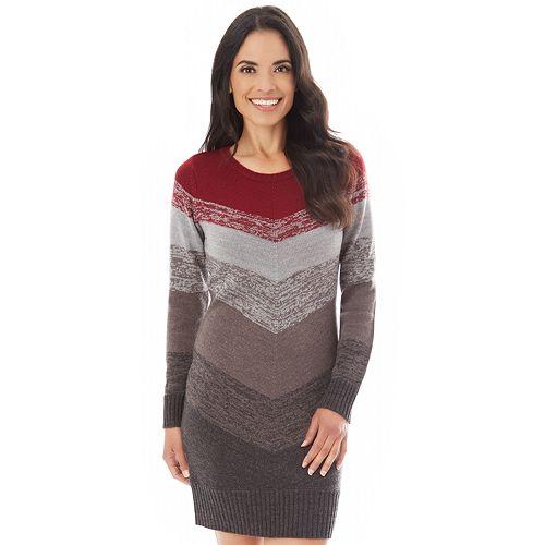 Women's Apt. 9® Mitered Sweaterdress