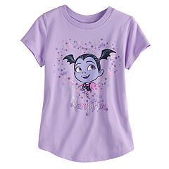 Disney's Vampirina Girls 4-10 Curved Hem Tee by Jumping Beans®