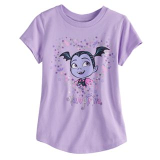 Disney's Vampirina Girls 4-10 Curved Hem Tee by Jumping Beans®