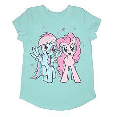 Girls 4-10 Jumping Beans® My Little Pony Rainbow Dash & Pinkie Pie Graphic Tee