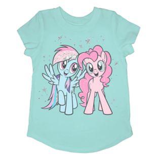 Girls 4-10 Jumping Beans® My Little Pony Rainbow Dash & Pinkie Pie Graphic Tee