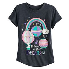 Girls 4-10 Jumping Beans® 'Believe In Your Dreams' Tee