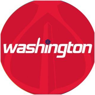 Washington Wizards Padded Ribbed Black Bar Stool
