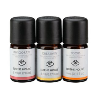 Serene House 3-piece Energy Essential Oil Collection