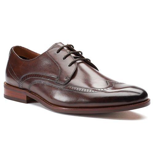 Apt. 9® Mylo Men's Leather Wingtip Dress Shoes