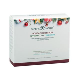 Serene House 3-piece Holiday Essential Oil Collection