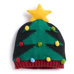 Christmas Tree Knit Beanie