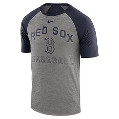 bbef07d5 Nike Men's Boston Red Sox Dri-FIT Slubbed Raglan Tee