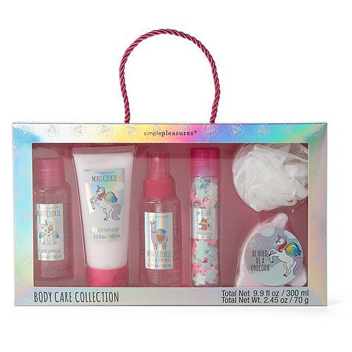 Girls Unicorn Bath Bady Care Set