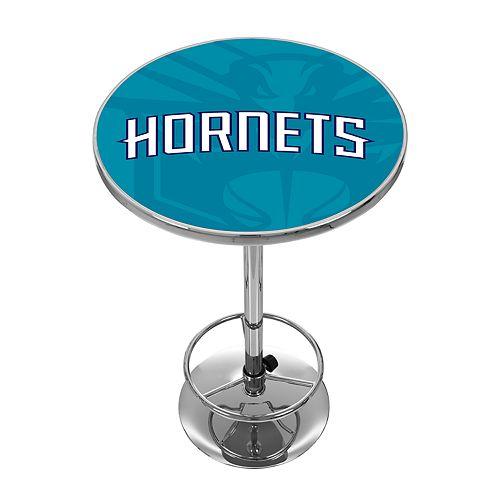 Charlotte Hornets Chrome Pub Table