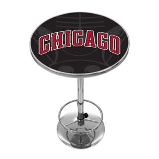 Chicago Bulls Chrome Pub Table