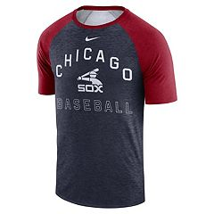 Nike Men's Chicago White Sox Dri-FIT Slubbed Raglan Tee