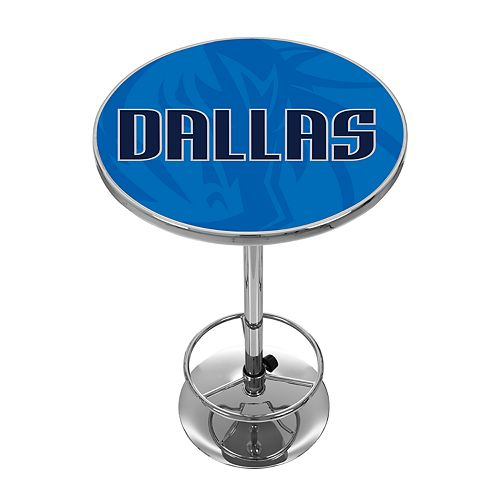 Dallas Mavericks Chrome Pub Table