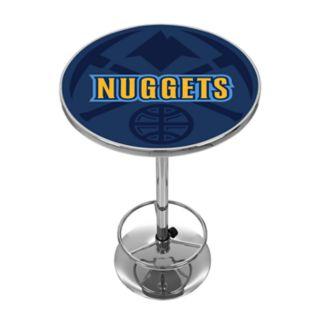 Denver Nuggets Chrome Pub Table