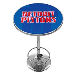 Detroit Pistons Chrome Pub Table