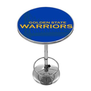 Golden State Warriors Chrome Pub Table