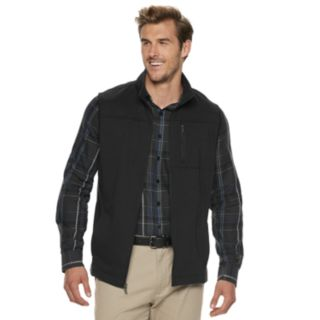 Big & Tall Van Heusen Traveler Fleece Vest