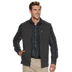 Big & Tall Van Heusen Traveler Fleece Vest
