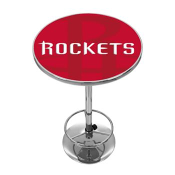 Houston Rockets Chrome Pub Table