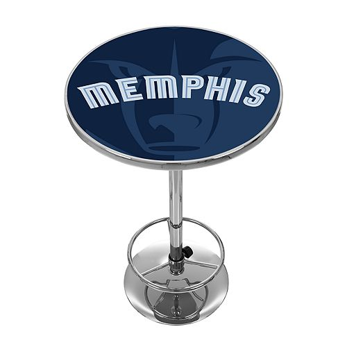 Memphis Grizzlies Chrome Pub Table