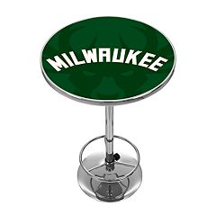 Milwaukee Bucks Chrome Pub Table