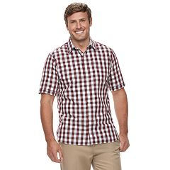 Big & Tall Van Heusen Classic-Fit Never Tuck Button-Down Shirt