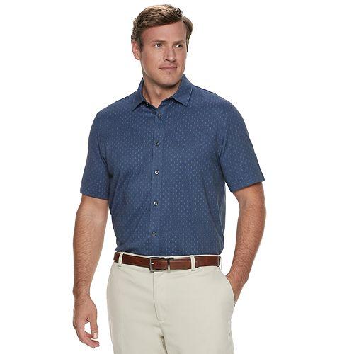Big & Tall Van Heusen Classic-Fit Never Tuck Button-Down Shirt