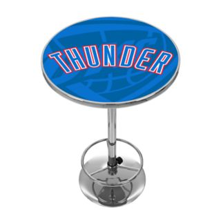 Oklahoma City Thunder Chrome Pub Table
