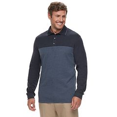 Big & Tall Van Heusen Flex Classic-Fit Colorblock Polo