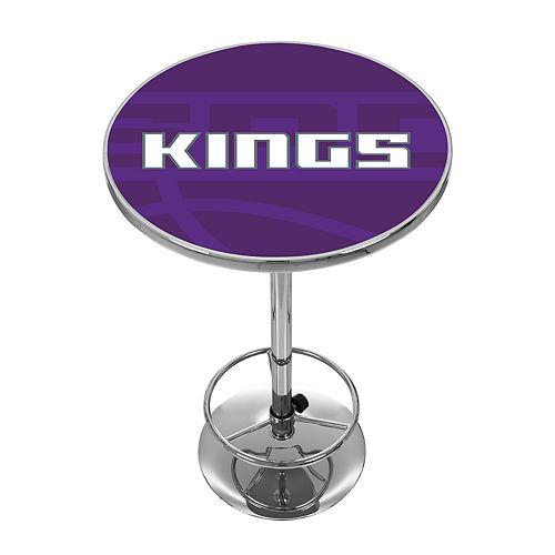 Sacramento Kings Chrome Pub Table