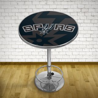 San Antonio Spurs Chrome Pub Table