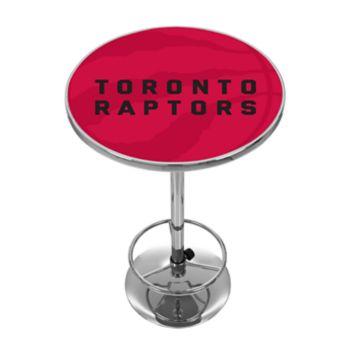 Toronto Raptors Chrome Pub Table